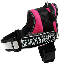 Service Dog Vest Removable Reflective label Patches IN TRAINING POLICE SECURITY