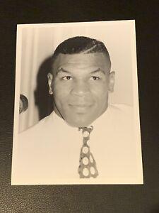 Original 1989 Mike Tyson Type 1 Boxing Photo PSA Ready Mint Rare Robin Givens