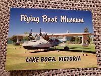 Flying Boat Museum, Lake Boga, Victoria - Vintage Postcard
