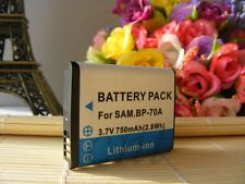 Rechargeable Battery For Samsung BP-70A MV800 ST30 ST700 ST60 ST90 ST96 Camera