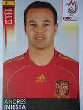 Panini 428 Andres Iniesta Spanien UEFA Euro 2008 Austria - Switzerland