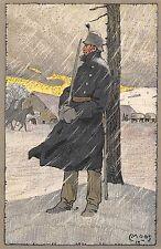 C4980) SVIZZERA FELDPOSTKARTE GRENZBESETZNG. ILL MOOS VG NEL 1915 DA ZURIGO.