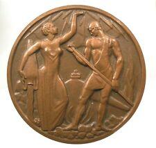 ~~ Algérie: Médaille Electricité et Gaz de France d'Algérie - 1957  ~~