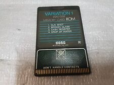 KORG DDD 1 DRUM CARD - VARIATION 1 & many other cards in stock