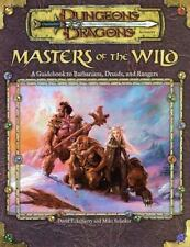 Masters of the Wild: A Guidebook to Barbarians, Druids, and Rangers Dungeon & D