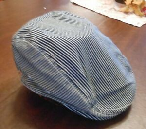 Urban Chef Works Unisex Gray and Black strip Cotton Blend. New with tags  - S/M