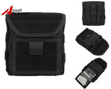 Tactical 1000D Molle Belt Admin Magazine Storage Pouch Bag Airsoft Hunting Black