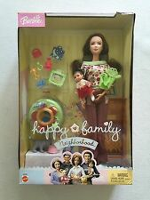 Barbie Doll The New Neighbors Mom & Baby Happy Family Neighborhood G4336 2004