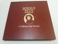 BEVERLY SILLS, Musical Self Portrait, AUTOGRAPHED Set, RED VINYL, Franklin Mint