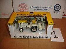 1/16 john deere yellow  patio series lawn mower