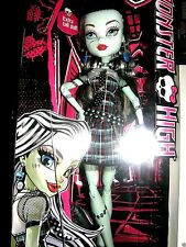 "Monster High Tall Ghouls Frankie Stein. 18""inches 2014 mattel collector"