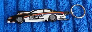 NOS NEW Genuine MOPAR Original Chrysler Rubber Racing NASCAR Keychain Key Fob