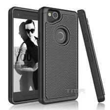 Fits Google Pixel 2 Case Shockproof Hybrid Rugged Armor Impact Cover  - Black