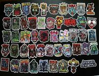 Lot of 50 Vintage Music Band Stickers Punk Retro Metal Heavy Rock n Roll #2