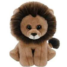 "Ty Beanie Babies 6"" Cecil the Beloved Zimbabwe Lion Plush"