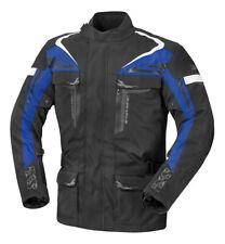 IXS Tour Evans-ST Motorrad Textiljacke Schwarz//Blau 3XL