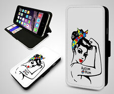 Autism Mum Mother Acronym Awareness Proud Woman Wallet Leather Phone Case Cover