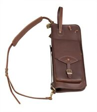 Tackle Instrument Leather Stick Bag - Brown