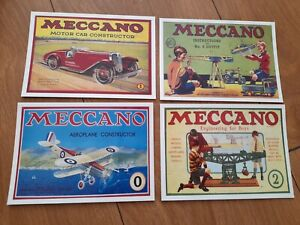 Job Lot Of Reproduction Vintage Maccano Postcards