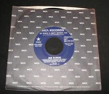 Rock Promo 45 RPM Speed Vinyl Records