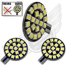 2X T10 T15 921 194 Natural White RV Trailer Interior 12V LED Light Bulbs 21SMD