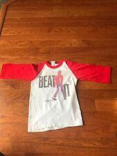 Vintage 80's Michael Jackson 1984 Triumph Merchandise Size 4 Kids Shirt