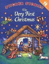 Sticker Stories: The Very First Christmas (2002, Paperback)