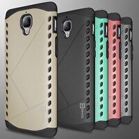 For OnePlus 3T / (Three) Case Armor Hard Modern Hybrid Slim Phone Cover