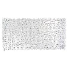 WENKO 20264100 Wanneneinlage Paradise Transparent, Kunststoff Steinoptik
