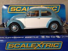 New Boxed  Scalextric 1963 VW BEETLE Road Car C3204 DPR BNIB 1/32 scale slot car