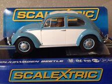 Nueva En Caja Scalextric 1963 VW Beetle Coche de carretera C3204 Lpr Nuevo Y En Caja