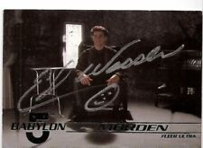 Signed Trading Cards