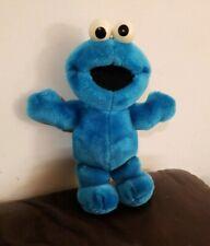 "Cookie Monster 12"" Talking Plush Stuffed 1996 Tyco Jim Henson Seasme Street"