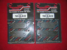 Honda RS250 90-94 Front '95' Brake Pad set. Performance Friction. New