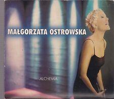 MALGORZATA OSTROWSKA - ALCHEMIA 1999  TOP RARE OOP CD LOMBARD