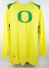 🔥NIKE ELITE DRI-FIT Oregon Ducks Basketball Warmup Long Sleeved Shirt $60MSRP🔥