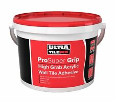 UltraTileFix ProSuper Grip Acrylic Wall Tile Adhesive Ready Mixed - 15kg