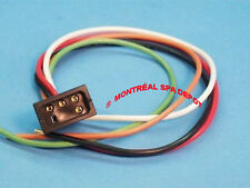 Spa & hot tub mini J&J plug RECEPTACLE for mini-heater, 5-pins w/ 12AWG wires