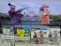 Tiger Woods PGA Tour Golf Masters 12, 13 Playstation 3 PS3 Tested SAME DAY SHIP