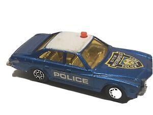 Vtg Corgi Juniors #17 Superman City of Metropolis Police Buick Regal 1982