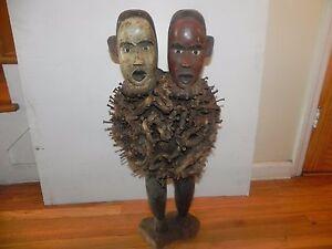 Arts of Africa - Bakongo NKisi Nail Fetish - DRC - Congo