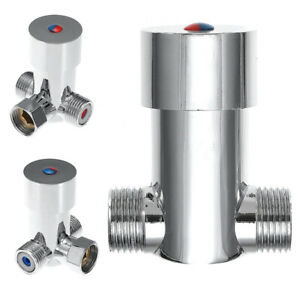 Temperature Faucet Control Mixing Valve Sensor Touchless Thermostatic Home Tap