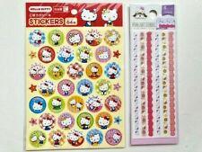 Daiso SANRIO Hello Kitty Stickers Seal (2 seats)  from Japan