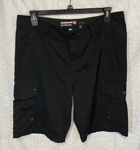 Quicksilver Amphibian Men's Black Board Shorts Size 34