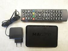 MAG250 STB IPTV + Power + Remote - TESTED