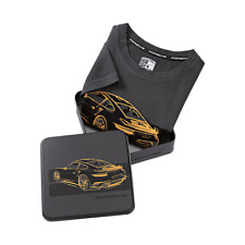 Porsche Driver's Selection T-Shirt Grey - 911 Turbo S Exclusive Series - US XS
