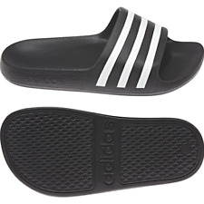 Shower Slippers Boy Adidas Slippers Adilette Aqua K Black Sea Pool