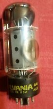 Nice Sylvania 6Ca7/El34 Fat Bottle Tested Stong used condition