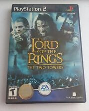 PS2 Lord of the Rings The Two Towers Play Station 2 Game Complete