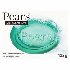 PEARS OIL CLEAR WITH LEMON FLOWER EXTRACT SOAP - 125G